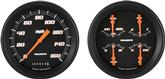 1947-53 Velocity Black Series Gauge Set W/O Tach