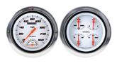 "1954-55 Chevrolet Truck (1st ser) - Classic 5"" Velocity Series White Gauge Kit With Tachometer"