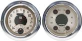 1954-55 (1st series) Chevrolet Truck All American Nickel Series Gauge Kit with Tachometer