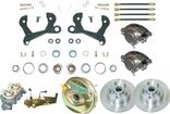 "1955-58 Chevrolet Front Power Disc Brake Conversion Set with 11"" Standard Rotors"