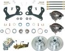 "1955-64 Chevrolet Full-Size - Front Manual Disc Brake Conversion Set With 11"" Standard Rotors"