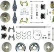 "1959-64 Chevrolet 4 Wheel Manual Disc Brake Conversion Set With 11"" Drilled/Slotted Rotors"