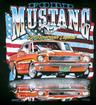 Mustang American Legend T-Shirt, Black - Xtra-Large