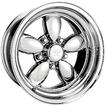 "17"" x 8"" American Racing Polished 200S Daisy Wheel with 5 x 4-3/4"" Bolt Pattern and -12mm Offset"