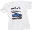 WHEN I GROW UP CHEVY TRUCK KIDS T-SHIRT (18M)