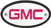 RED GMC LOGO RECEIVER INSERT