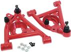1982-92 Gm F-Body - Umi Front Tubular Lower A-Arm Set W/ Polyurethane Bushings  - Red Powdercoat