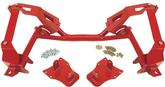 1982-92 F-Body With LSX Eng - Tubular K-Member Kit For Use With Coil-Over Springs - Red