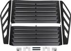 1982-92 F-BODY ALUMINUM REAR WINDOW LOUVERS 4-PIECE W/O 3RD BRAKE LIGHT