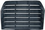 1986 Firebird Abs Rear Window Louvers 1 Piece W/Aero Wing W/3rd Brake Light