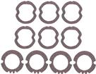 1958 IMPALA / FULL SIZE 10 PIECE LAMP LENS GASKET SET
