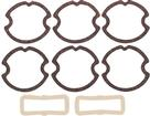 1963 IMPALA / FULL SIZE 8 PIECE LAMP LENS GASKET SET