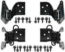 1967-68 Mustng/Cougar Complete Door Hinge Kit with hardware