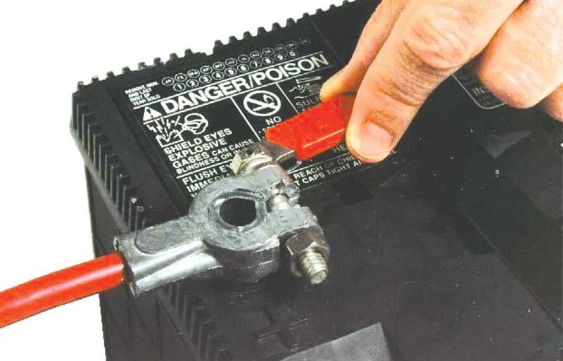 Quick-Release Battery Cable Bolts