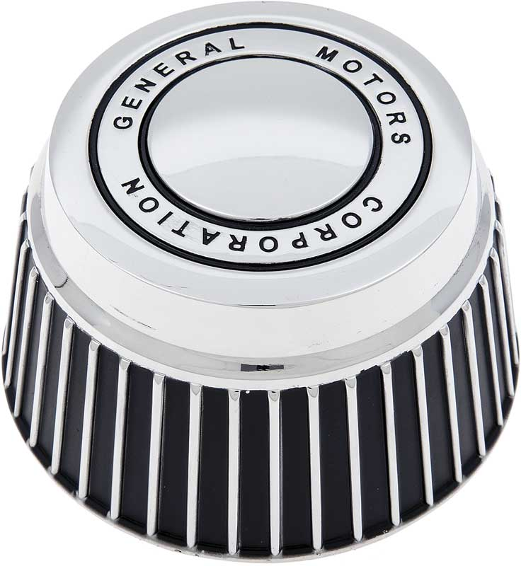 Rally Wheel Derby Cap with General Motors Corporation
