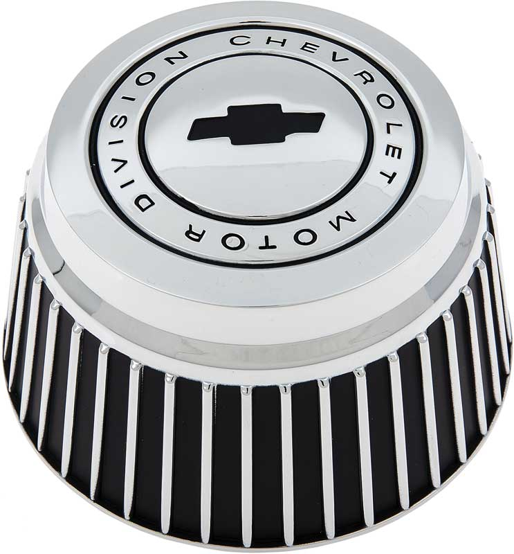 Tall Chrome Rally Wheel Derby Cap with Bow Tie