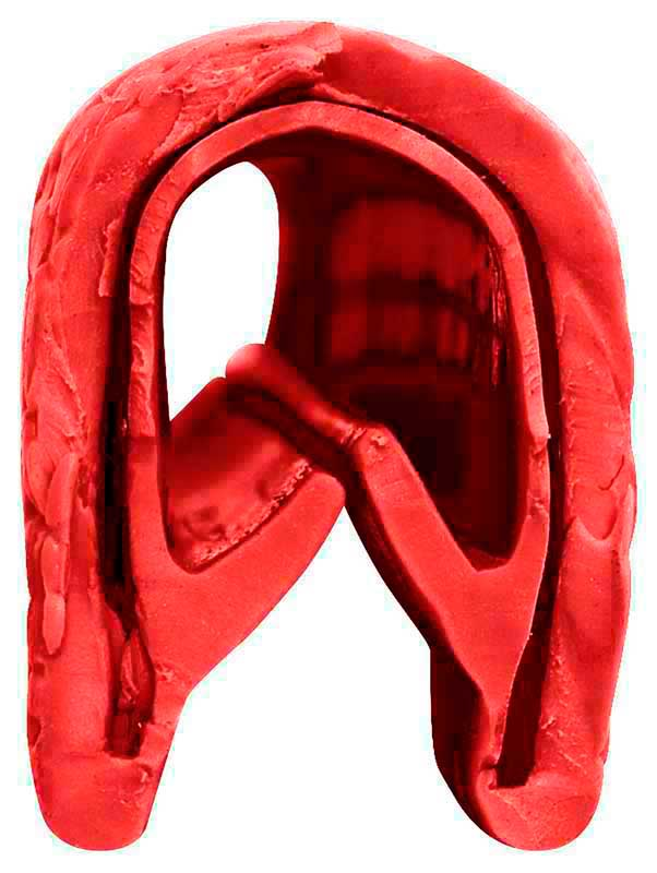 1967-6 Camaro / Firebird, 1963-68 Impala/Full Size 1962-72 Nova Dark Red Interior Door Jamb Windlace