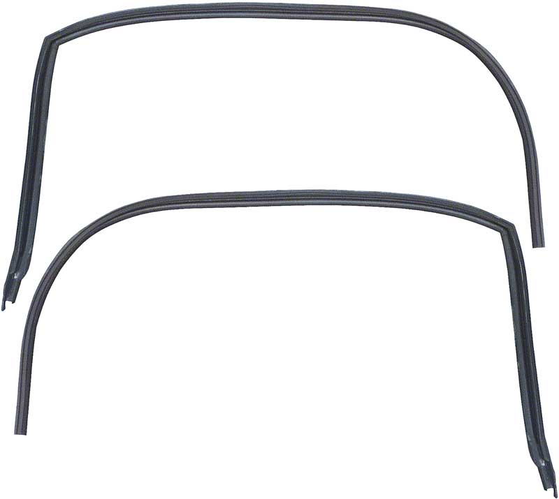 1968-69 Camaro / Firebird Coupe Reproduction Roof Rail Weatherstrips