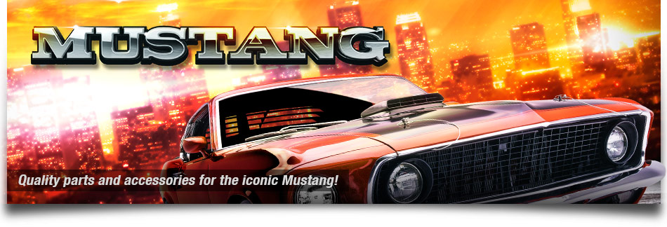 Quality parts and accessories for the iconic Mustang!