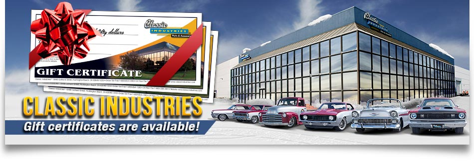 Classic Industries Gift Certificates
