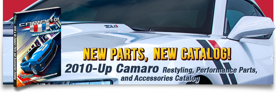 2010-Up Camaro - New Parts, New Catalog!